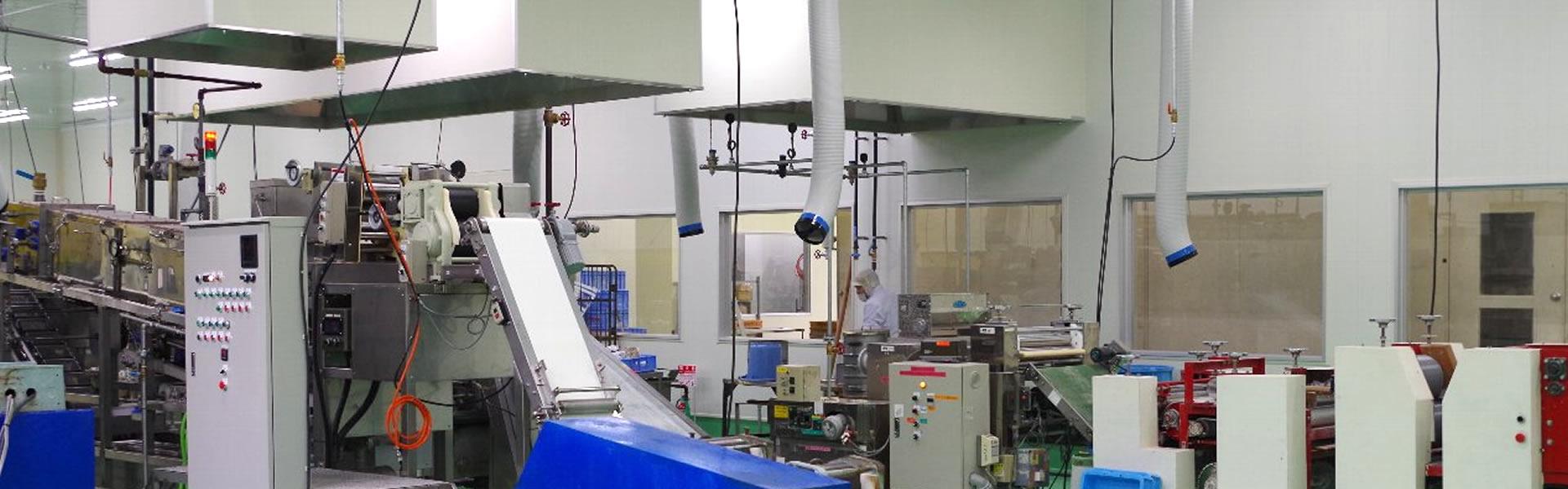 製麺工場のご案内